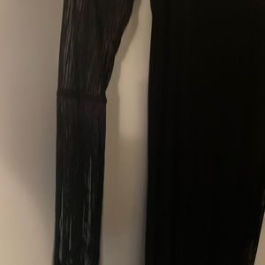 Black Zara dress with fringe